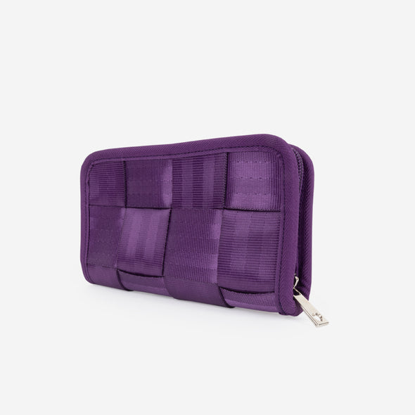 Classic Wallet Mulberry Side