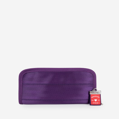 Clutch wallet mulberry front