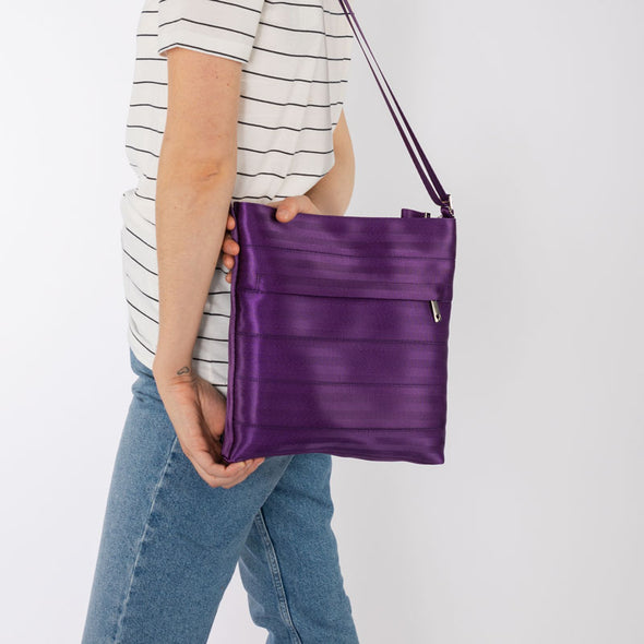 Streamline Crossbody Mulberry Lifestyle