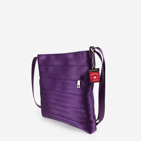 Streamline Crossbody Mulberry Side