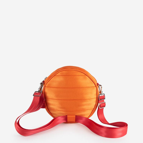 Convertible Crossbody Orange Slice Back