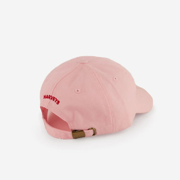 Made With Love Dad Hat Pink Back Side Harveys