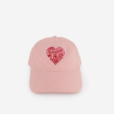 Made With Love Dad Hat Pink