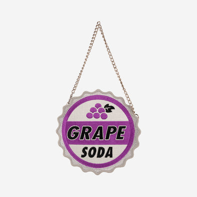 COIN PURSE UP GRAPE SODA