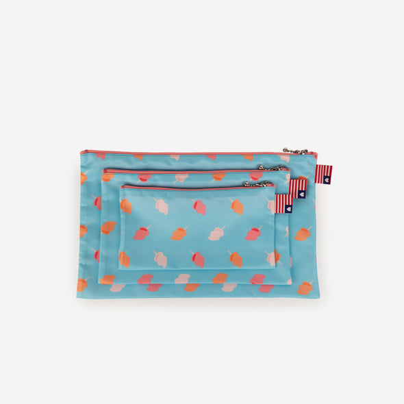 pouch set cotton candy