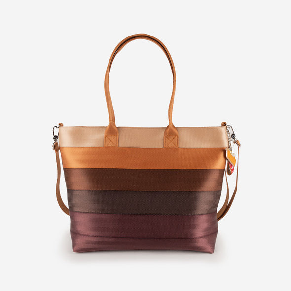 Medium Streamline Tote Pumpkin Pie Front