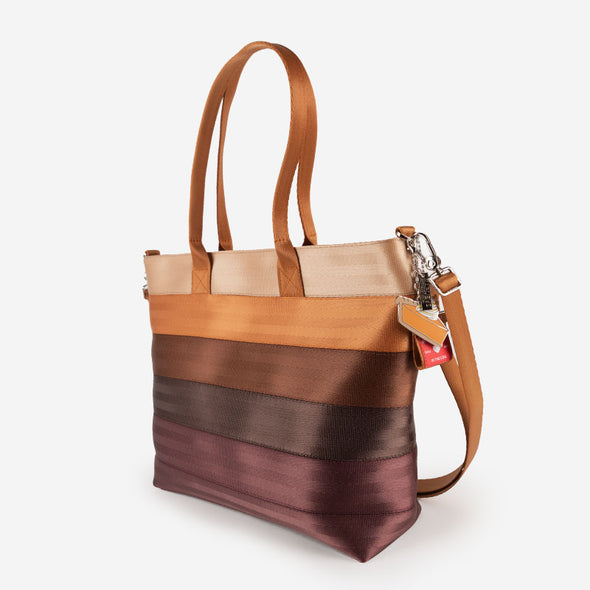 Medium Streamline Tote Pumpkin Pie Side