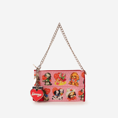 coin purse puppy love front