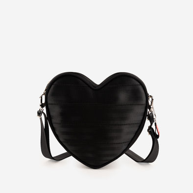 Sweetheart Convertible Crossbody / Black