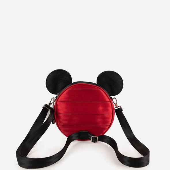 Convertible Crossbody Disney Santa Mickey Back
