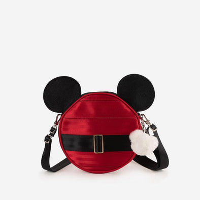 Convertible Crossbody Disney Santa Mickey Front