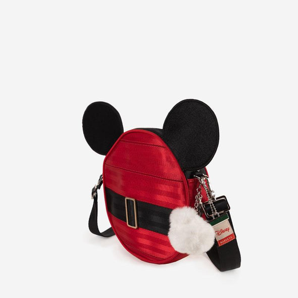Convertible Crossbody Disney Santa Mickey Side