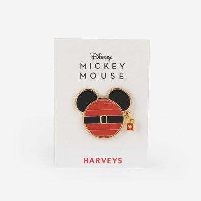 Lapel Pin Disney Santa Mickey Front