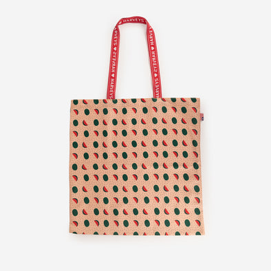 shopper tote watermelon
