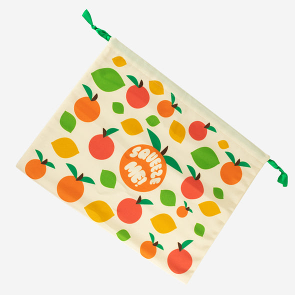 Dust Bag Squeeze Me Flat Lay