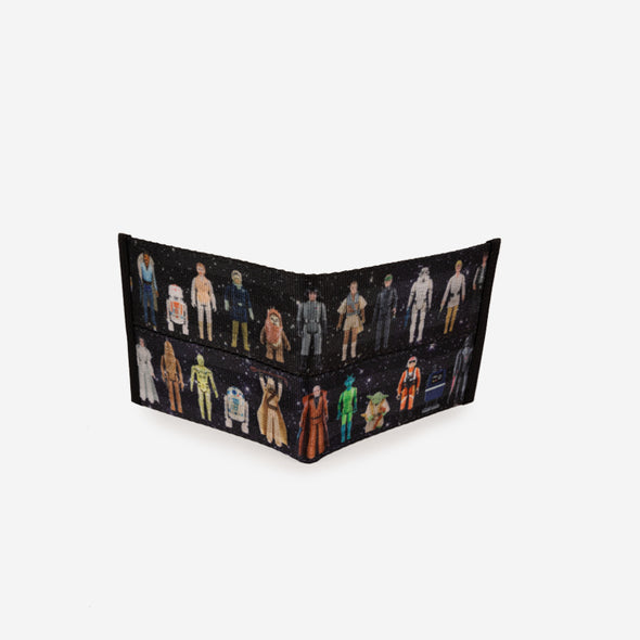 Billfold Star Wars Action Figures Open