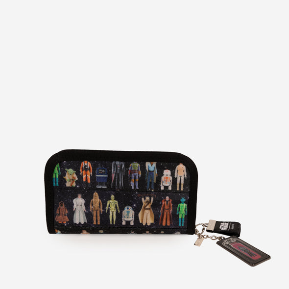 Star Wars Action Figures Classic Wallet Front