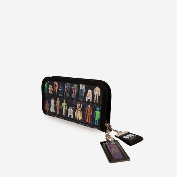 Classic Wallet Star Wars Action Figures Angle