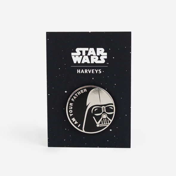 darth vader I am your father lapel pin