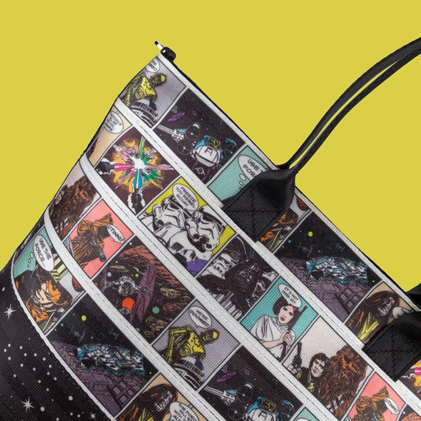 Seatbelt Tote Bag Star Wars Comic Print
