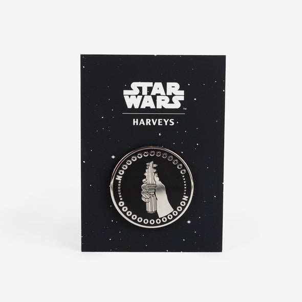 star wars nooooooo! lapel pin