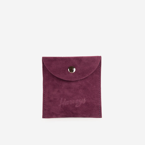 necklace stop and smell the roses pouch