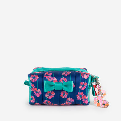 Mini Bow Dopp Kit Super Bloom Front