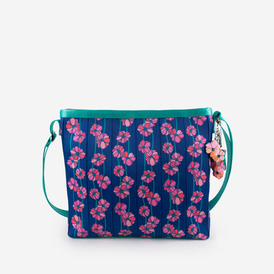 Vertical Streamline Crossbody Super Bloom Front