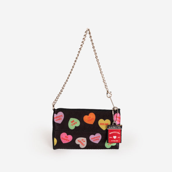 Coin Purse Tough Love Hearts Front