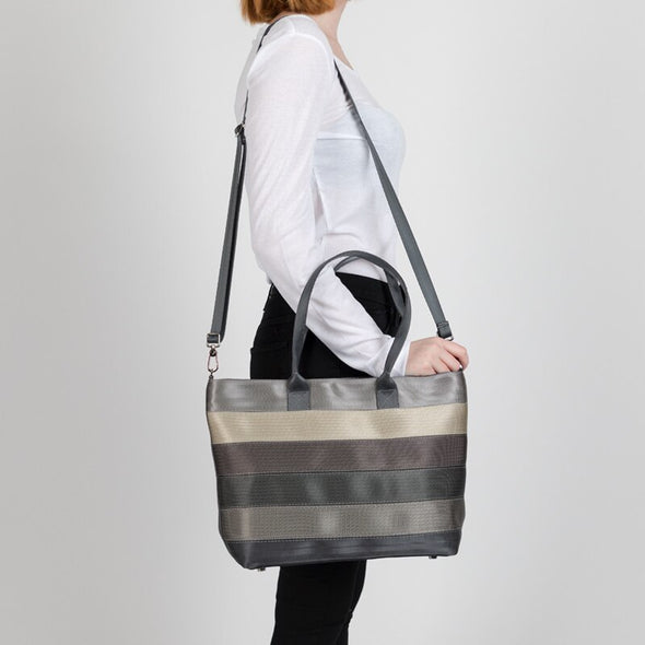 Medium Streamline Tote Treecycle Lifestyle