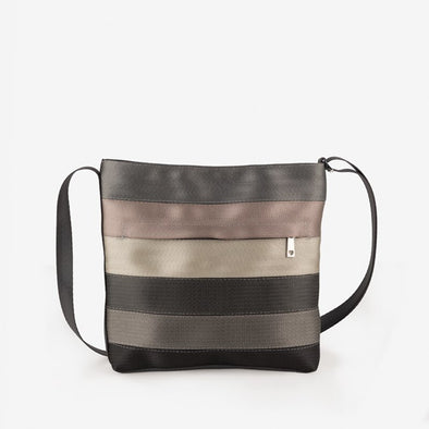 Streamline Crossbody Treecycle Recycled Seatbelt bag
