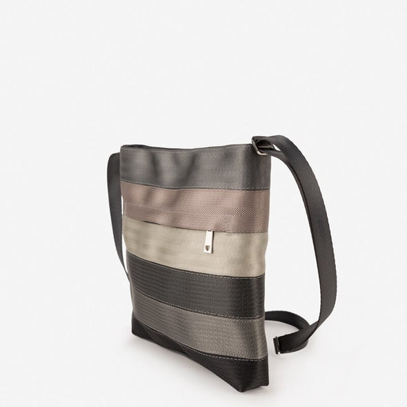 Seatbelt Recycled Crossbody Messenger Treecycle