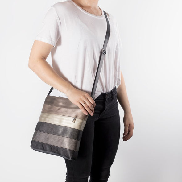 Recycled Seatbelt bag Crossbody Messenger