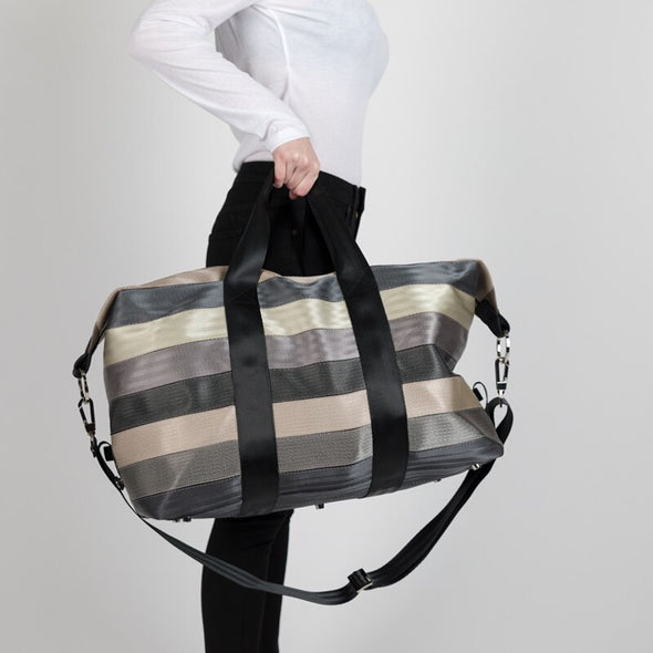 Recycled Seatbelt Travel Bag Duffle