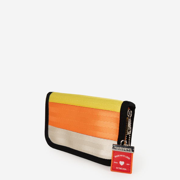 Classic Wallet Candy Corn Side