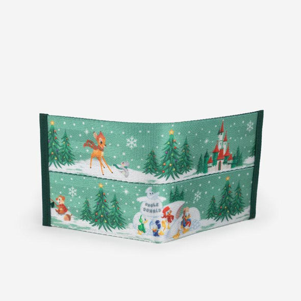 Billfold Disney Winter Wonderland Back