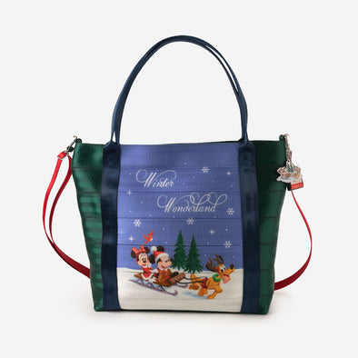 Poster Tote Disney Winter Wonderland Front