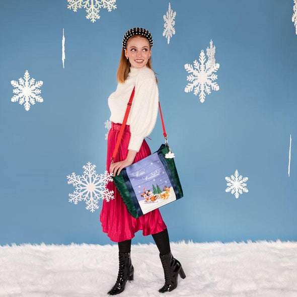 Poster Tote Winter Wonderland Lifestyle