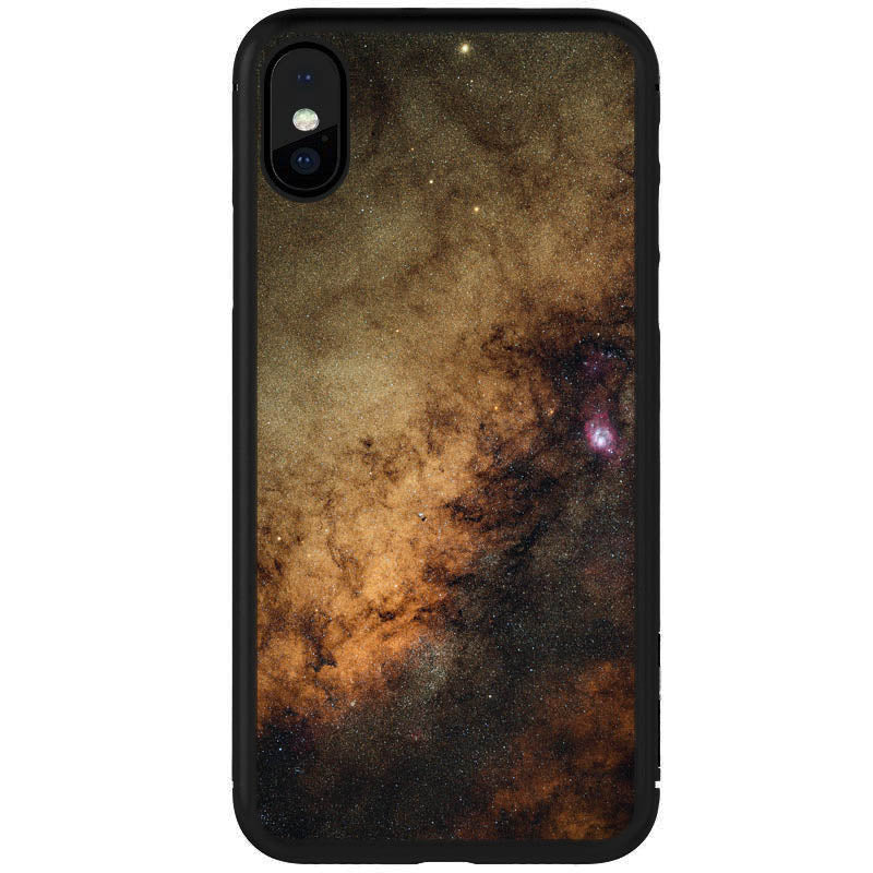Galactic Center Milky Way Art iPhone/Samsung Case
