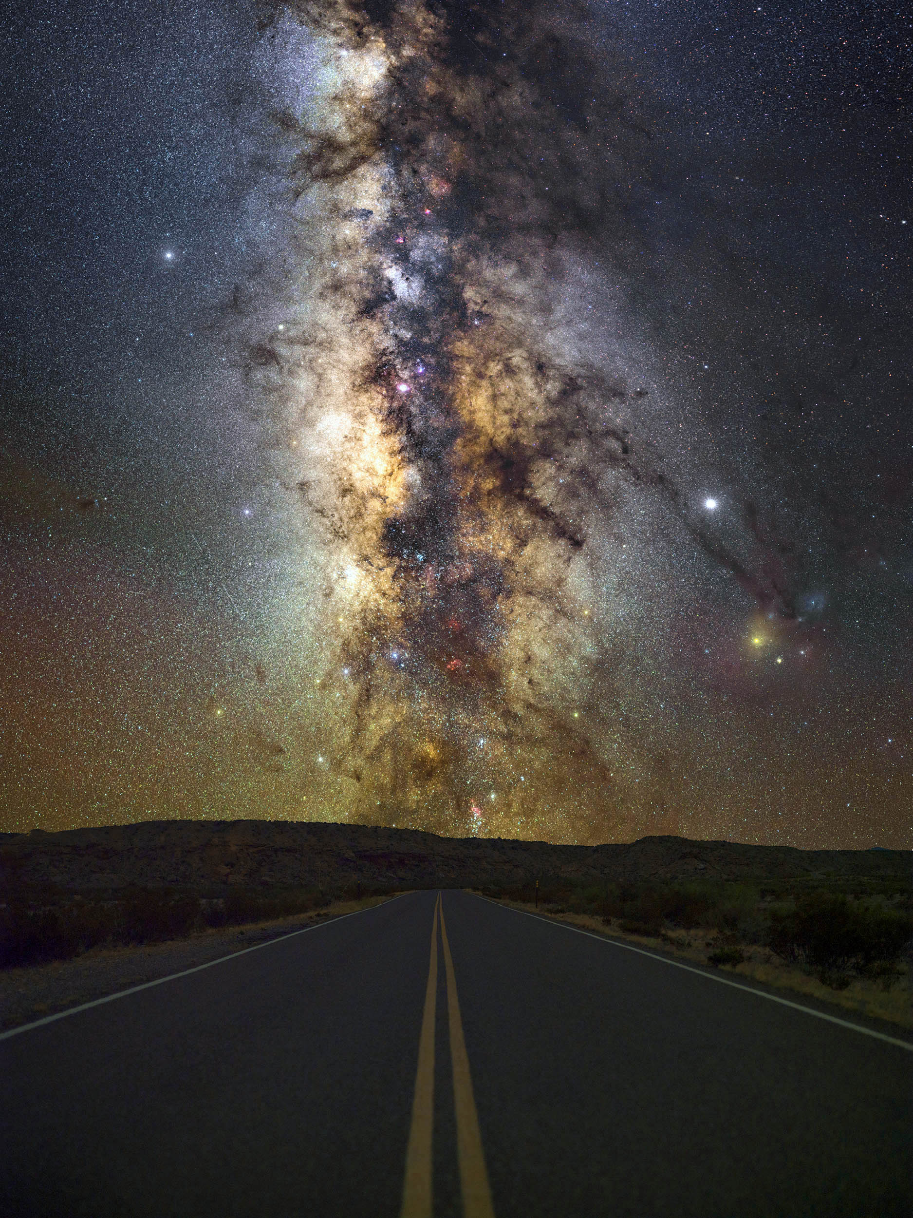 Big Bend Forever Series Milky Way Print (Big Bend NP)