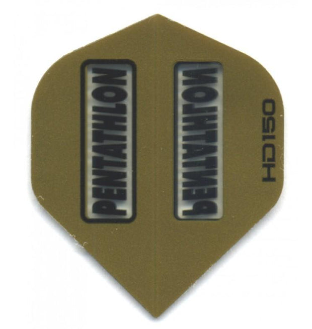 Pentathlon HD150 Gold Dart Flights Extra Thick