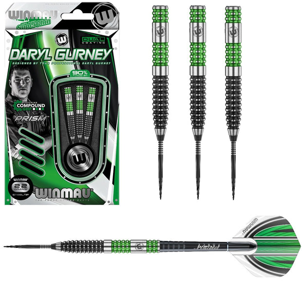 Daryl Gurney Special Edition 90% Tungsten Steel Tip Darts by Winmau