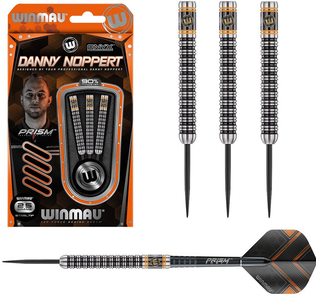 Danny Noppert 90% Tungsten Steel Tip Darts by Winmau