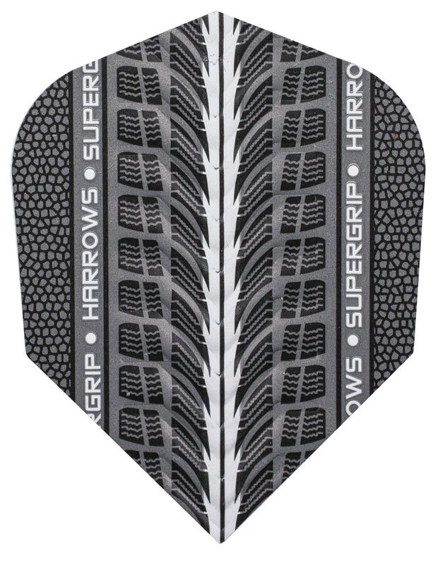 Harrows Supergrip Silver 100 Micron dart Flights 1700