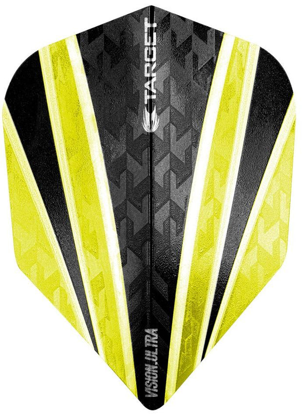 Pro 100 Vision Ultra Clear Yellow 4 Sail Dart Flights