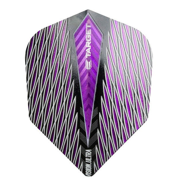 Target Purple Quartz Vision Ultra No 6 Standard Dart Flights