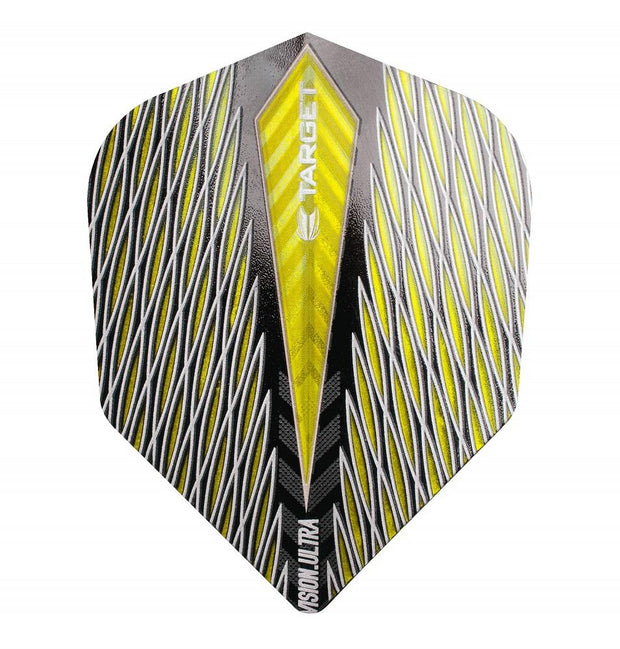 Target Yellow Quartz Vision Ultra No 6 Standard Dart Flights