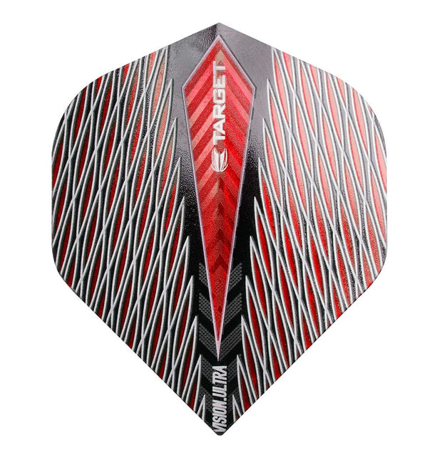 Target Red Quartz Vision Ultra No 2 Standard Dart Flights