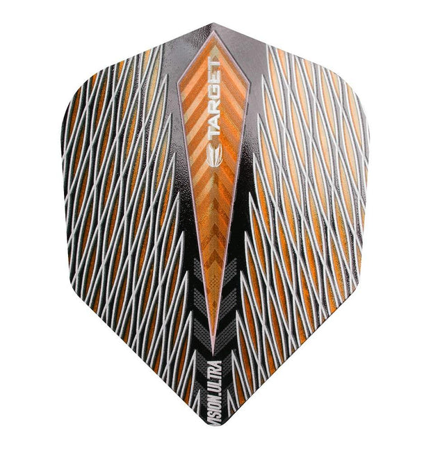 Target Orange Quartz Vision Ultra No 6 Standard Dart Flights
