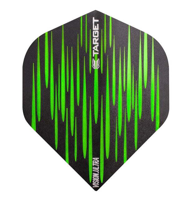 Target Green Spectrum Ultra No 2 Standard Vision  Dart Flights
